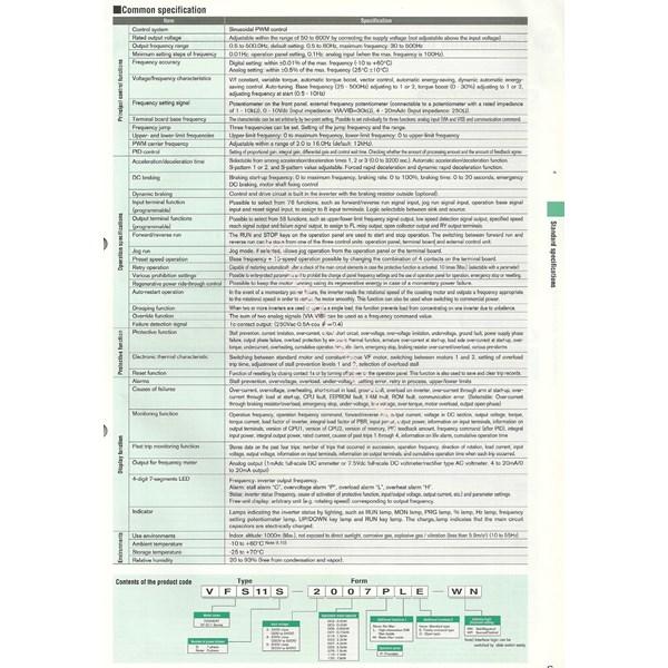 Inverter Toshiba Type Vfs11