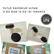 Tutup Paper Cup Hitam