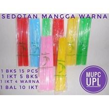 Sedotan Mangga Warna