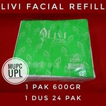 Tissue Wajah Livi Facial Refill