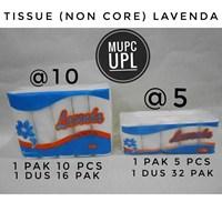 Jual Tissue Wajah Non Core (Lavenda) isi @10 dan @5
