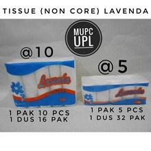 Tissue Wajah Non Core (Lavenda) isi @10 dan @5