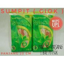 Sumpit Bambu merk (GIOK)