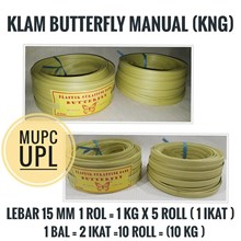 Yellow Butterfly Manual Strapping Klam Strap
