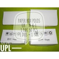 Paperbox Polos Uk M dan L