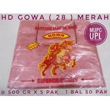 Plastik HD GOWA 28 MERAH
