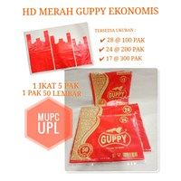 HDPE GUPPY ECONOMIC RED 1