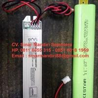 Jual Baterai Charger Emergency TL LED 4500 MAH