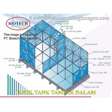Tangki Panel Fibreglass PT. BIOTECH INTERNATIONAL