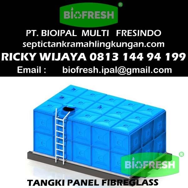 Tangki Fiber Fibreglass / Panel Tank