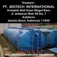 IPAL Biotech Untuk rumah sakit puskesmas dan klinik