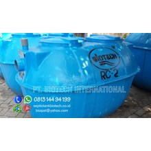 Fibreglass Gas Scrubber Wastewater Treatment