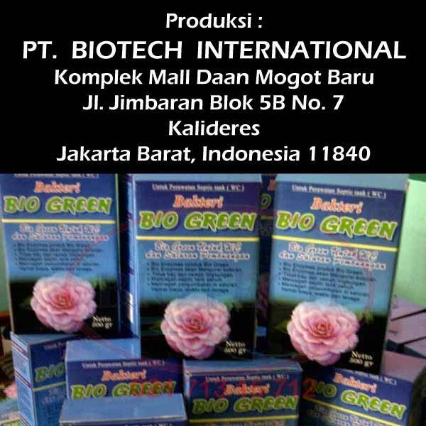 Bubuk Bakteri Biogreen