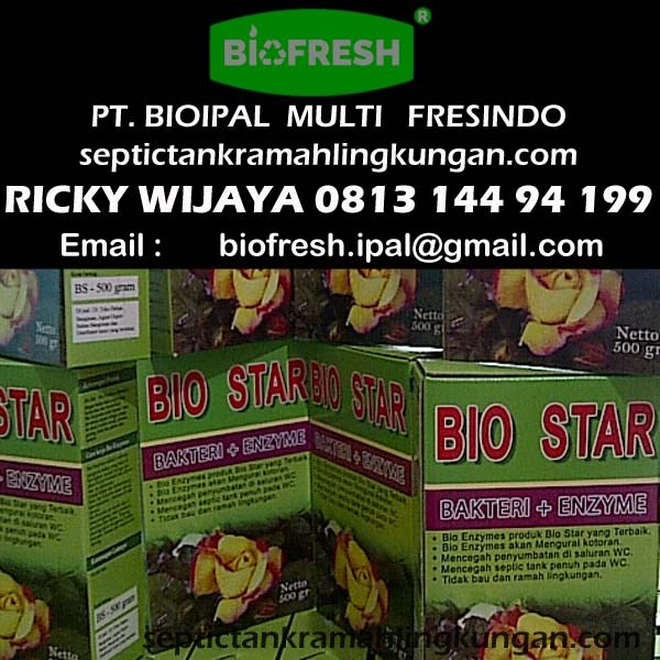 Bubuk Bakteri Biostar
