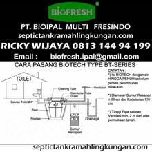 Cara Pasang Septic Tank Biotech BT Series