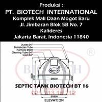 Jual Septic Tank Biotech BT 16 2