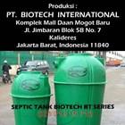 Ukuran Septic Tank Biotech BT Series 2
