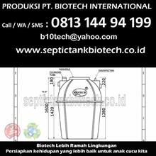 Size Septic Tank Biotech BT 12