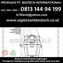 Size Septic Tank Biotech BT 16