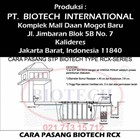 How to Put Septic Tank Biotech RCX series 5