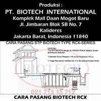 Jual Cara Pasang Septic Tank Biotech RCX series