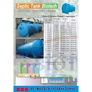 Septic Tank Ramah Lingkungan By PT Biotech International