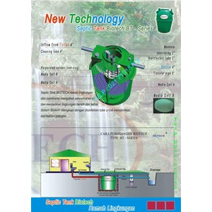 Septic Tank Biotech By PT Biotech International