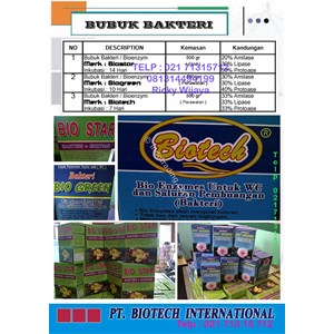 Bubuk Bakteri By PT Biotech International