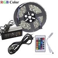 Rgb Led Strip 5050 -  5M Waterproof + Remote + Adaptor