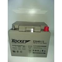 Jual Baterai Kering Rocket Es 40H-12 12V 40 Ah Made In Korea Asli- Aki Accu Garansi Resmi
