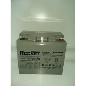 Dari Baterai Kering Rocket Es 40H-12 12V 40 Ah Made In Korea Asli- Aki Accu Garansi Resmi 1