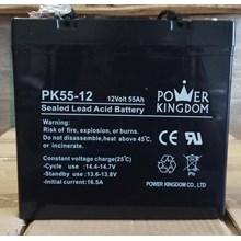 Agm Batteries Vrla Baterai Kering Power Kingdom Pk 55-12 12V 55 Ah - Aki Accu