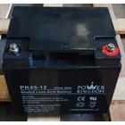 Baterai Kering Power Kingdom Pk 45-12 12V 45 Ah - Aki Accu 4
