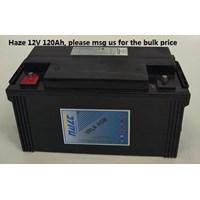 Jual  Baterai Kering Haze Hzb 12-120 12V 120 Ah - Aki Accu