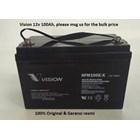Agm Batteries Vrla Baterai Kering Vision 6Fm 100-X 12V 100 Ah - Aki Accu 1