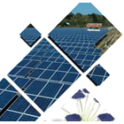 Solar Panel / Solar Cell Polycrystalline Up To 200WP 1
