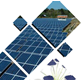 Solar Panel / Solar Cell Polycrystalline Up To 200WP