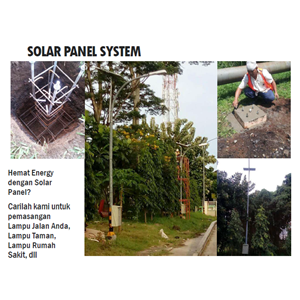Solar Panel System By ANDALAN MULTIDAYA