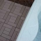 Lantai Kayu WPC Decking Tile  3