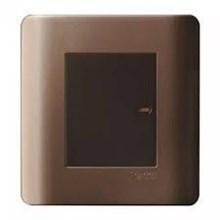 Saklar 1 Gang 1 Arah Zencelo Silver Bronze E8431_1_SZ_G3