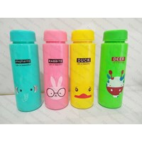 My Bottle Infused Water MOTIF ANIMAL 500ml - Botol Minum Karakter H-302 1