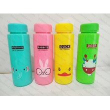 My Bottle Infused Water MOTIF ANIMAL 500ml - Botol Minum Karakter H-302