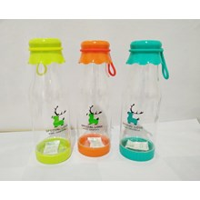 Botol Minum Plastik 550 Ml - Botol Minum H-9113