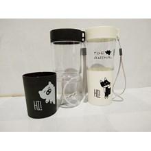 Botol Minum Plastik 500ml - Botol Minum H-263
