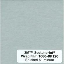 Kaca Film Mobil 3M 1080 BR120 Brushed Aluminium