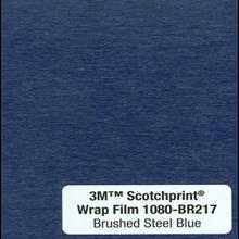Kaca Film Mobil 3M 1080 BR217 Brushed Steel Blue