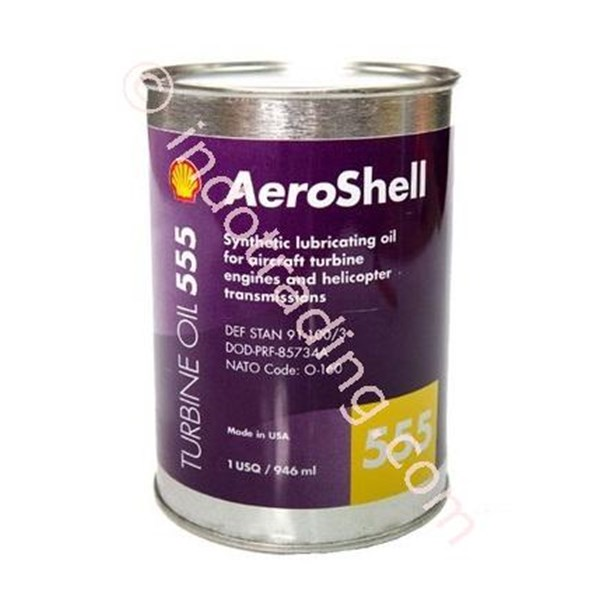Oli Dan Pelumas Aeroshell Turbine Oil 555 (Asto 555)