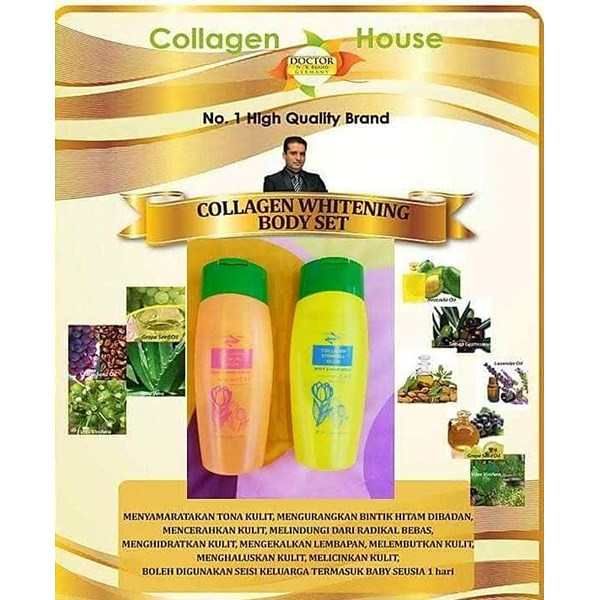 Collagen Whitening Body Set