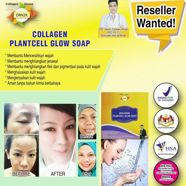 Collagen Plantcell Glow Soap