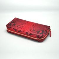 Dompet Kulit Wanita Lw-70 Py – Red Ladies Wallet